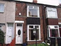 Two bedroom two bathroom mod terraced property in chanterlands Hull, great size with courtyard