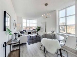 Corner Suite 1+1 Bed / 2 Bath | Richmond St W