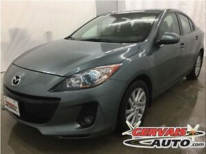 Mazda MAZDA3 GSL-SKY Cuir Toit Ouvrant A/C MAGS 2012