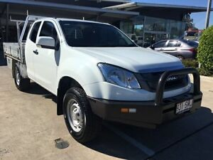 2012 Isuzu D-MAX MY12 SX Space Cab White 5 Speed Manual Cab Chassis Yamanto Ipswich City Preview