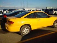 chevrolet cavalier 2002 $595. taxe transit inclus 514-793-0833