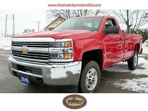 2015 Chev Silverado 2500 HD 4x4 SOLD!