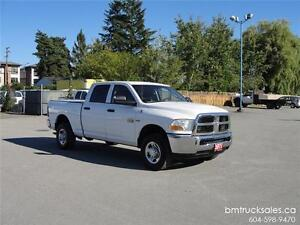 2011 DODGE RAM 2500 ST CREW CAB SHORT BOX 4X4 HEMI