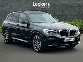 image for 2018 BMW X3 Xdrive30D M Sport 5Dr Step Auto Estate Diesel Automatic
