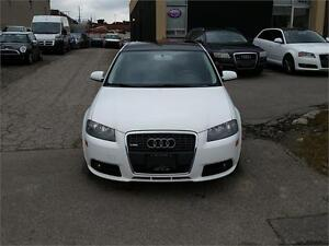 2007 AUDI A3 2.0T S-LINE PACKAGE WITH PANORAMIC ROOF