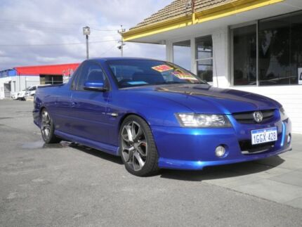 2005 Holden Commodore VZ SS Blue 4 Speed Automatic Utility Beckenham Gosnells Area Preview