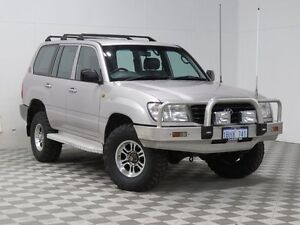 2002 Toyota Landcruiser HZJ105R (4x4) Silver 5 Speed Manual 4x4 Wagon East Rockingham Rockingham Area Preview