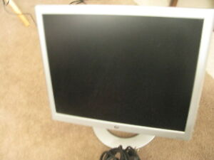 19 inch LCD. computer monitor