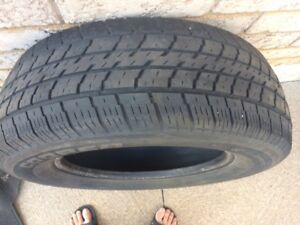 "Pair of 16"" COOPER All Season Tires with Good Tread - $60 / obo"