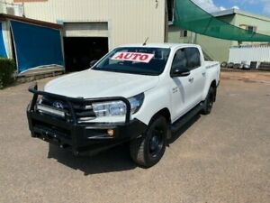 2017 Toyota Hilux GUN126R MY17 SR (4x4) 6 Speed Automatic Dual Cab Utility Holtze Litchfield Area Preview