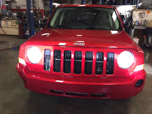 Jeep Patriot 2009 Rouge / négociable