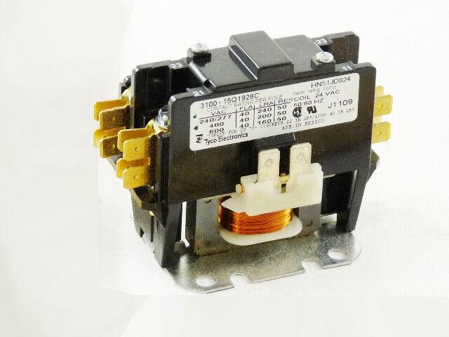 Carrier Products 1Pole 40Amp 24V Contactor OEM HN51JD024