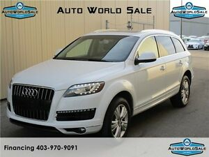 2013 AUDI Q7 |7 PASS | PREMIUM PACK| NO ACCIDENTS