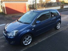 FORD FIESTA ZETEC BLUE Special Edition 1.25 2008