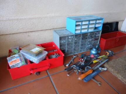 collection of fixings, screws, nuts and bolts, tools $35 the lot Unley Unley Area Preview