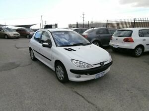 2004 Peugeot 206 T1 MY04 XR White 4 Speed Sports Automatic Hatchback Wangara Wanneroo Area Preview
