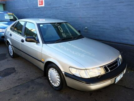1995 Saab 900 S 2.0I Silver 4 Speed Automatic Hatchback Hobart CBD Hobart City Preview