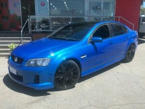 2010 Holden Commodore VE SS V Sedan 4dr Man 6sp 6.0i Blue Manual Sedan