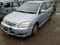 TOYOTA COROLLA 1.4 1.6 PETROL BREAKING FOR SPARES TEL 07814971951 HAVE FEW IN STOCK