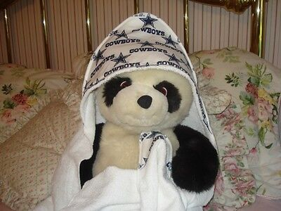DALLAS COWBOYS NFL FOOTBALL HOODED TOWEL & CLOTH  BABY BOY GIRL --NBA--NCAA-BCMM