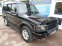 Land Rover Discovery 2.5Td5 4x4 7 seats auto 2003 GS S/H Full MOT 1 Prev keeper