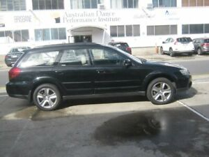 2005 Subaru Outback B4A MY05 R AWD Black 5 Speed Sports Automatic Wagon Kippa-ring Redcliffe Area Preview