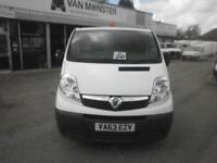Vauxhall Vivaro 2.0Cdti LWB [115Ps] Van 2.9T Euro 5 DIESEL MANUAL WHITE (2014)