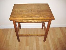 1930 country Style Solid Oak Occasional Table OFFERS WELCOME