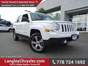 2016 Jeep Patriot Sport/North W/ 4X4, LEATHER UPHOLSTERY & SU...