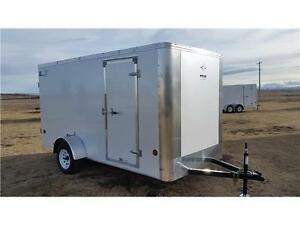 6X12 ENCLOSED CARGO, SCREWLESS EXT, ENCLOSED WIRING, TAX IN