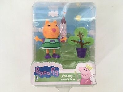 *Nick Jr Peppa Pig* Princess  Candy Cat Figure ()