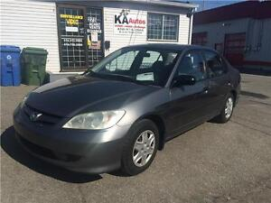 2005 Honda Civic SE 1.7L 5 VIT AIR 1999$ 514-692-0093
