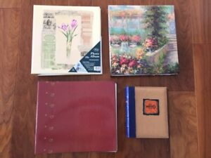 4 photo albums $40 all