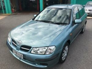 2002 Nissan Pulsar N16 ST Green 4 Speed Automatic Hatchback Christies Beach Morphett Vale Area Preview