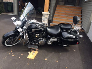 "Yamaha Roadstar XV1700 (1700cc) Midnight  ""Canadian special edit"