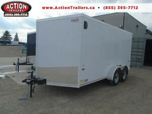 HAULIN 7X14' CARGO W/RAMP DOOR (2017 MODEL) SAVE BIG $$$$ London Ontario image 1