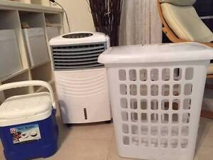 Assorted home goods- printer, office supplies, bins, storage, etc St Kilda Port Phillip Preview