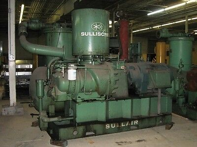 SULLAIR 32-300L AIR COMPRESSOR - COMPLETE UNIT - REPLACEMENT MOTOR