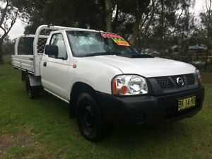 2011 Nissan Navara D22 Series 5 DX (4x2) White 5 Speed Manual Cab Chassis Tuggerah Wyong Area Preview