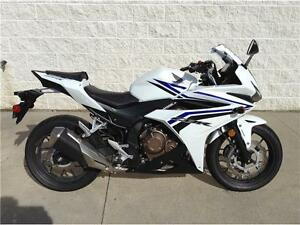 2016 HONDA CBR500RA - USED DEMO EXCELLENT CONDITION - SAVE $760!