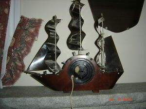 Antique Sail Ship Clock Gatineau Ottawa / Gatineau Area image 2