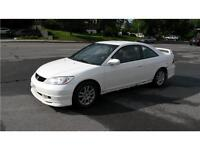 2005 Honda Civic Reverb,