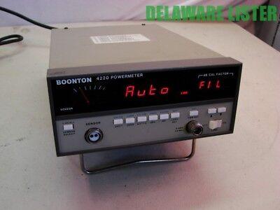 Boonton Electronics Co. Model 4220-s4 Rf Power Meter Unit Power Up