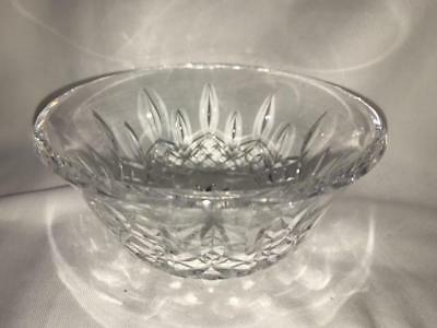 Vintage Waterford Lismore Crystal Small Candle Dish  New Made in Ireland