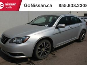 2012 Chrysler 200 S, NAVIGATION, SUNROOF, LEATHER.