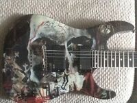 """Slayer """"South of Heaven"""" ESP LTD special edition"""