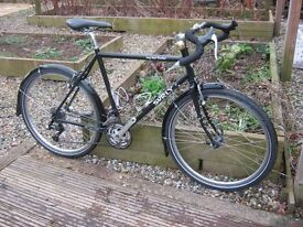 "Surly Long Haul Trucker Touring bike 52cm, 26"" wheels - drop bar, but optional flat bar tourer"