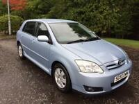 2005 55 TOYOTA COROLLA 2.0 COLOUR COLLECTION D-4D 5D 114 BHP DIESEL