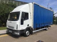 2004 IVECO EUROCARGO ML75E17S DAY 7.5t Curtain Side Lorry Manual HGV