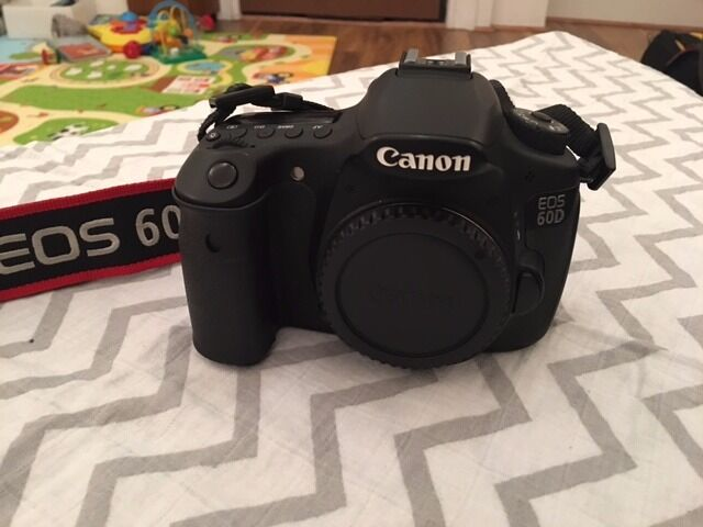 Canon 60D Camera Body - Boxed in Great Condition - £290